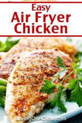 Easy Air Fryer Chicken Recipes