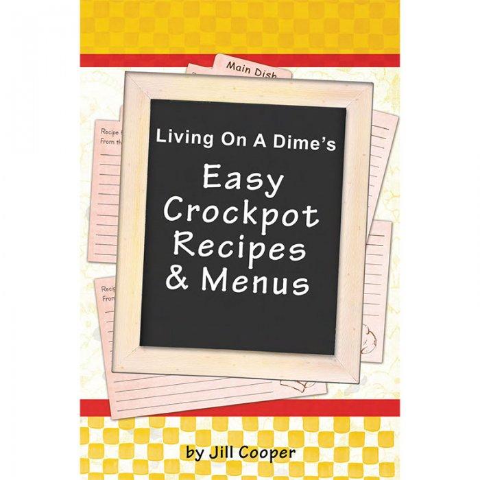 Easy Crockpot Recipes & Menus e-Book