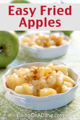 Easy Homemade Fried Apples Recipe