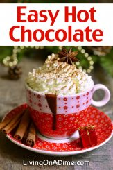 This easy hot chocolate mix makes a perfect addition to many different gift basket ideas! Hot chocolate is a favorite sweet treat that most everybody loves, so if you're making a gift basket for a chocolate lover, trying to create a nostalgic mood or just need a little more filler in your gift basket, hot chocolate mix is a good addition!