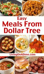 Easy Meals From Dollar Tree Food – Quick And Easy Recipes!