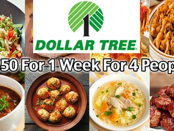 Here are some easy meals from Dollar Tree that you can make starting with only Dollar Tree food. These meals are quick, easy and cheap! I don't normally buy food items at Dollar Tree, but these recipes demonstrate that with a little creativity, you can make cheap and easy meals this way. You can save money and stress making these meals and they are healthier than grabbing something at the fast food restaurant!