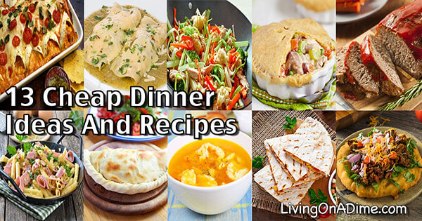 1 Dollar Dinners! Cheap Dinner Ideas And Recipes