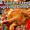 Dairy Free Gluten Free Thanksgiving Dinner! Easy Thanksgiving Recipes!
