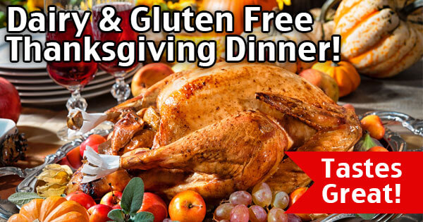 Dairy Free Gluten Free Thanksgiving Dinner! Easy Thanksgiving Recipes!