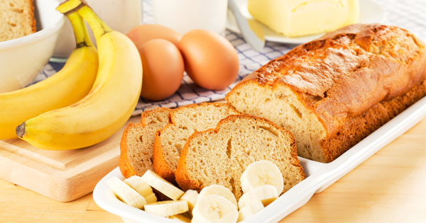 Easy Banana Bread Recipe - How To Make Moist Banana Bread