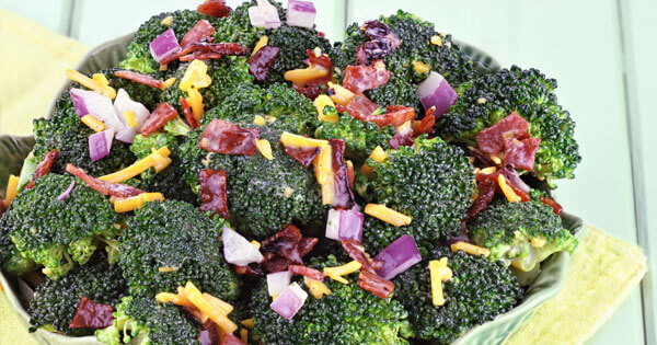 Easy Broccoli Raisin Salad Recipe!