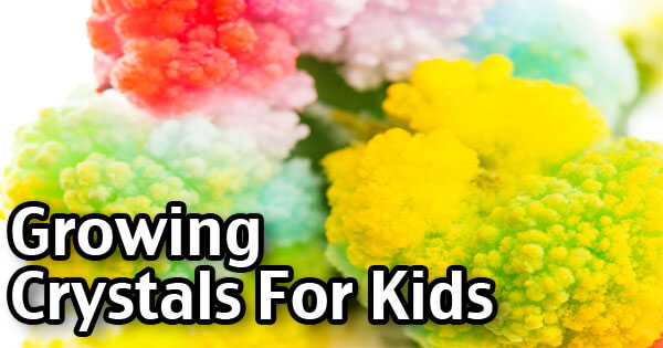 Growing Crystals Recipe - Fun Kids Science Experiment