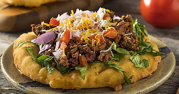 Navajo Tacos Fry Bread Recipe