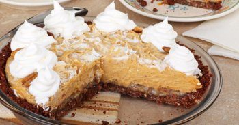 No Bake Peanut Butter Pie Recipe!