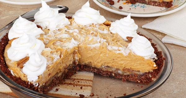 No Bake Peanut Butter Pie Recipe!