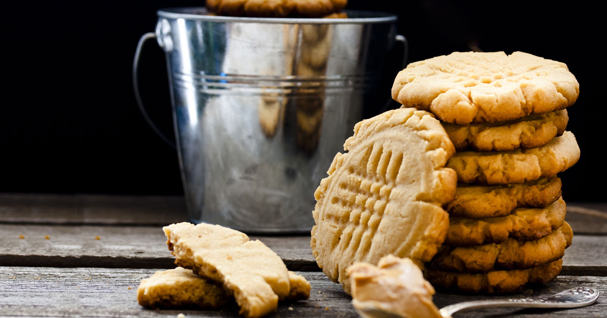 Grandma's Old Fashioned Peanut Butter Cookies Recipe