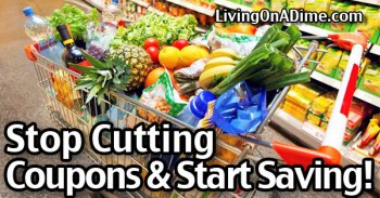 Stop Cutting Coupons and Start Saving!
