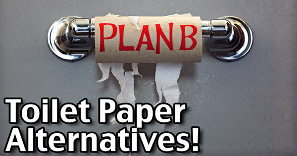 7 Toilet Paper Alternatives!