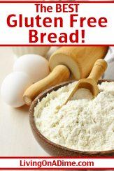 Gluten Free Bread Recipe – Easy Recipe That Actually Tastes Good!