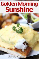 Golden Morning Sunshine Recipe