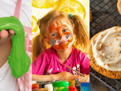Try these easy kids Halloween recipes including Toxic Aquarium, Witch's Brew, Slime, Face Paint and Pumpkin Cookies. They're easy to make and lots of fun!