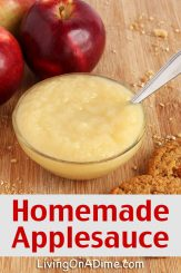 Easy Homemade Applesauce Recipe