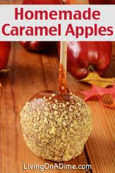 Homemade Caramel Apples and Dip Recipes