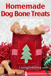 5 Homemade Dog and Cat Treats Recipes