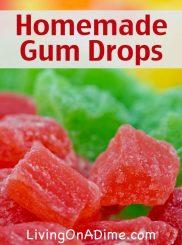 Homemade Gum Drops Recipe