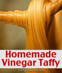Homemade Vinegar Taffy Recipe