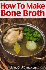How To Make Bone Broth – Bone Broth Recipe