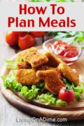 Meal Planning – Planning Proper Meals