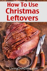 Using Christmas Leftovers and New Year's Party Recipes!