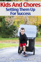 Kids And Chores – Setting Up Your Kids For Success