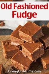 Old Fashioned Homemade Fudge Recipe