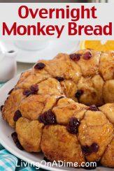 Overnight Monkey Bread Recipe (Overnight Bubble Bread)