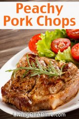 Peachy Pork Chops Recipe And Quick And Easy Meal