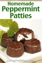 Homemade Party Mints – York Peppermint Patties