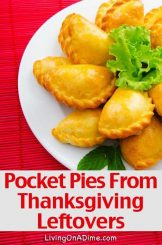 Pocket Pies Recipe To Use Thanksgiving Leftovers