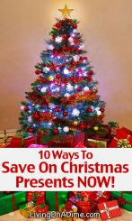 10 Easy Ways to Save On Christmas Presents Now!