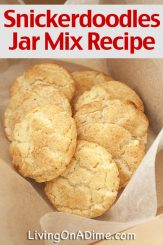 Snickerdoodle Cookies Jar Mix Recipe And Bean Soup Mix