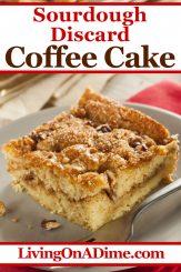 Sourdough Discard Coffee Cake Recipe