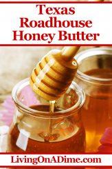 Texas Roadhouse Honey Butter Recipe Copycat